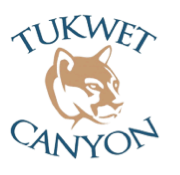 Logo of golf course named Morongo Golf Club at Tukwet Canyon
