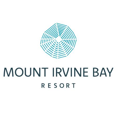 Logo of golf course named Mount Irvine Bay Resort