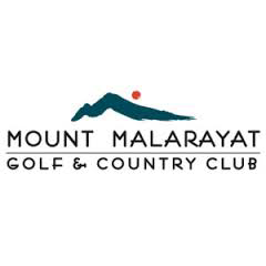 Logo of golf course named Mount Malarayat Golf and Country Club