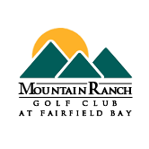 Logo of golf course named Mountain Ranch Golf Club at Fairfield Bay