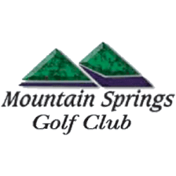 Logo of golf course named Mountain Springs Golf and Country Club