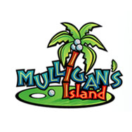 Logo of golf course named Mulligans Island Golf and Entertainment Center