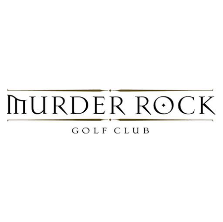 Logo of golf course named Murder Rock Country Club