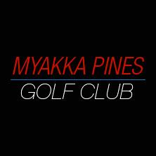 Logo of golf course named Myakka Pines Golf Club