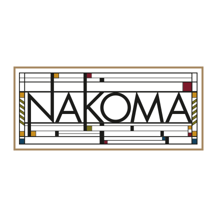 Logo of golf course named Nakoma Golf Resort