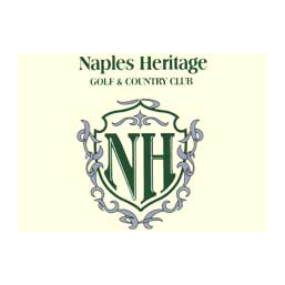 Logo of golf course named Naples Heritage