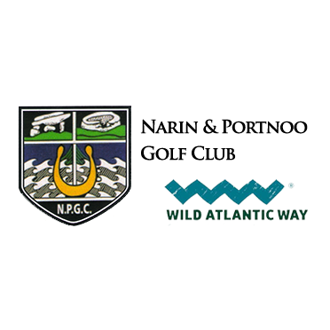 Logo of golf course named Narin and Portnoo Golf Club