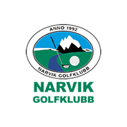 Logo of golf course named Narvik Golfklubb