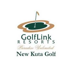 Logo of golf course named New Kuta Golf Resort