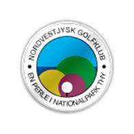 Logo of golf course named Nordvestjysk Golf Club