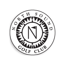 Logo of golf course named North Sound Golf Club