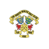 Logo of golf course named North Wales Golf Club