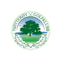 Logo of golf course named Notteroy Golfklubb