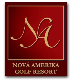 Logo of golf course named Nova Amerika Golf Resort