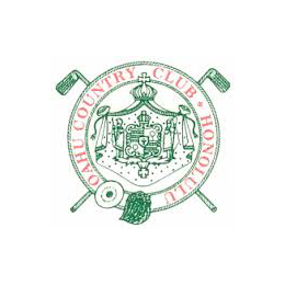 Logo of golf course named Oahu Country Club