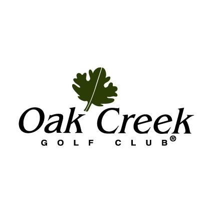 Logo of golf course named Oak Creek Golf Club