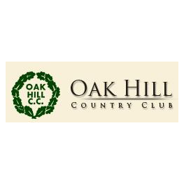 Logo of golf course named Oak Hill Country Club
