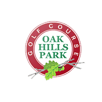 Logo of golf course named Oak Hills Park Golf Course