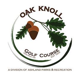 Logo of golf course named Oak Knoll Golf Course