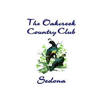 Logo of golf course named Oakcreek Country Club, The