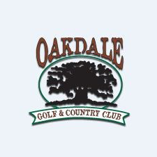Logo of golf course named Oakdale Golf and Country Club
