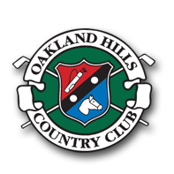 Logo of golf course named Oakland Hills Country Club