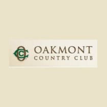 Logo of golf course named Oakmont CC