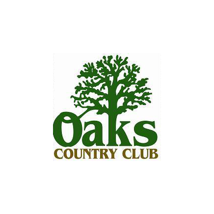 Logo of golf course named Oaks Country Club