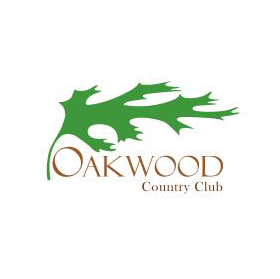 Logo of golf course named Oakwood Country Club