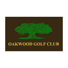 Logo of golf course named Oakwood Golf Club