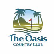 Logo of golf course named Oasis Country Club