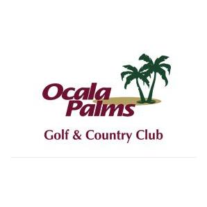 Logo of golf course named Ocala Palms Golf Club