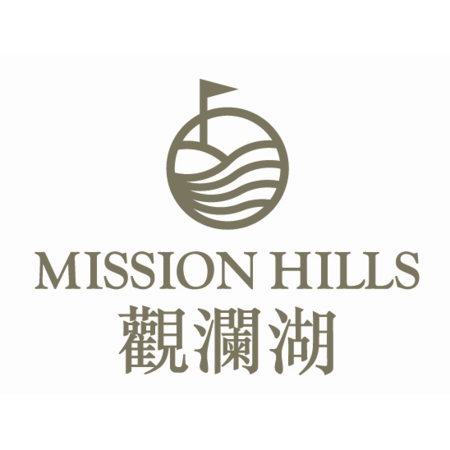 Logo of golf course named Olazabal Course at Mission Hills Dongguan