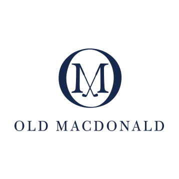 Logo of golf course named Old Macdonald at Bandon Dunes Resort