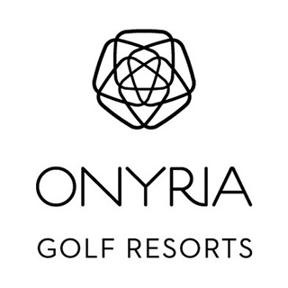 Logo of golf course named Onyria Palmares Golf Resort