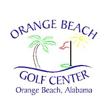 Logo of golf course named Orange Beach Golf Center