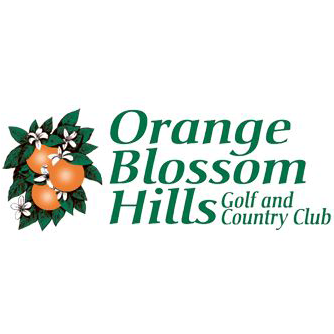 Logo of golf course named Orange Blossom Hills Golf and Country Club