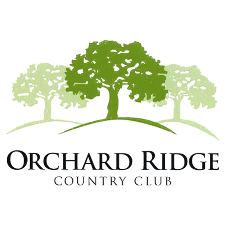 Logo of golf course named Orchard Ridge Country Club