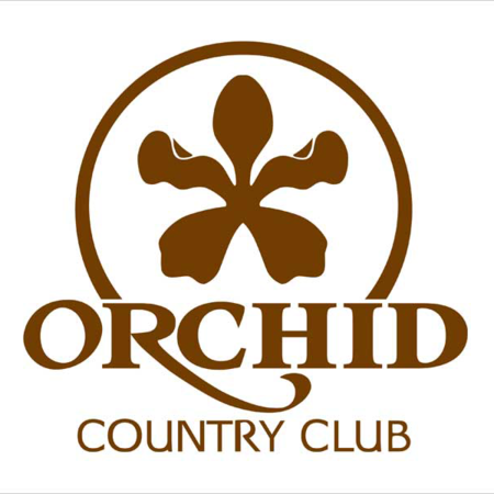 Logo of golf course named Orchid Country Club