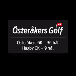 Logo of golf course named Osterakers Golfklubb