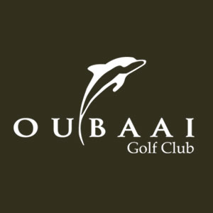Logo of golf course named Oubaai Golf Resort and Spa