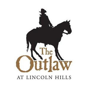 Logo of golf course named Outlaw Club at Lincoln Hill