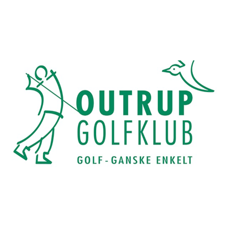 Logo of golf course named Outrup Golf Club