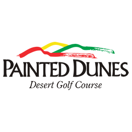 Logo of golf course named Painted Dunes Desert Golf Course
