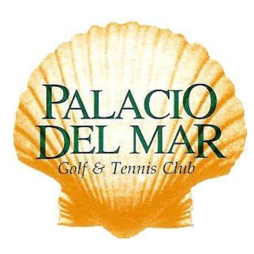 Logo of golf course named Palacio Del Mar Golf Course