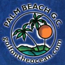 Logo of golf course named Palm Beach Golf Course