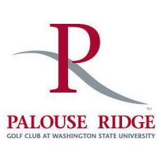 Logo of golf course named Palouse Ridge Golf Club at Washington State University