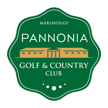 Logo of golf course named Pannonia Golf and Country Club