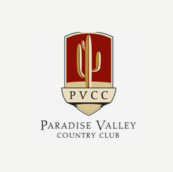 Logo of golf course named Paradise Valley Country Club