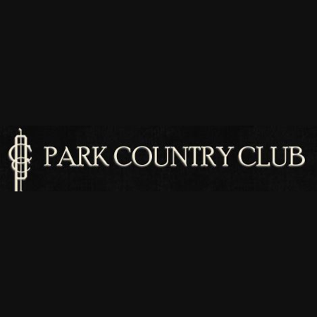 Logo of golf course named Park Country Club